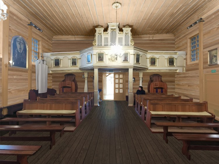 projektowany wygląd kościoła